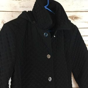 East 5th Jackets & Coats - Black Quilted Jacket Size Large